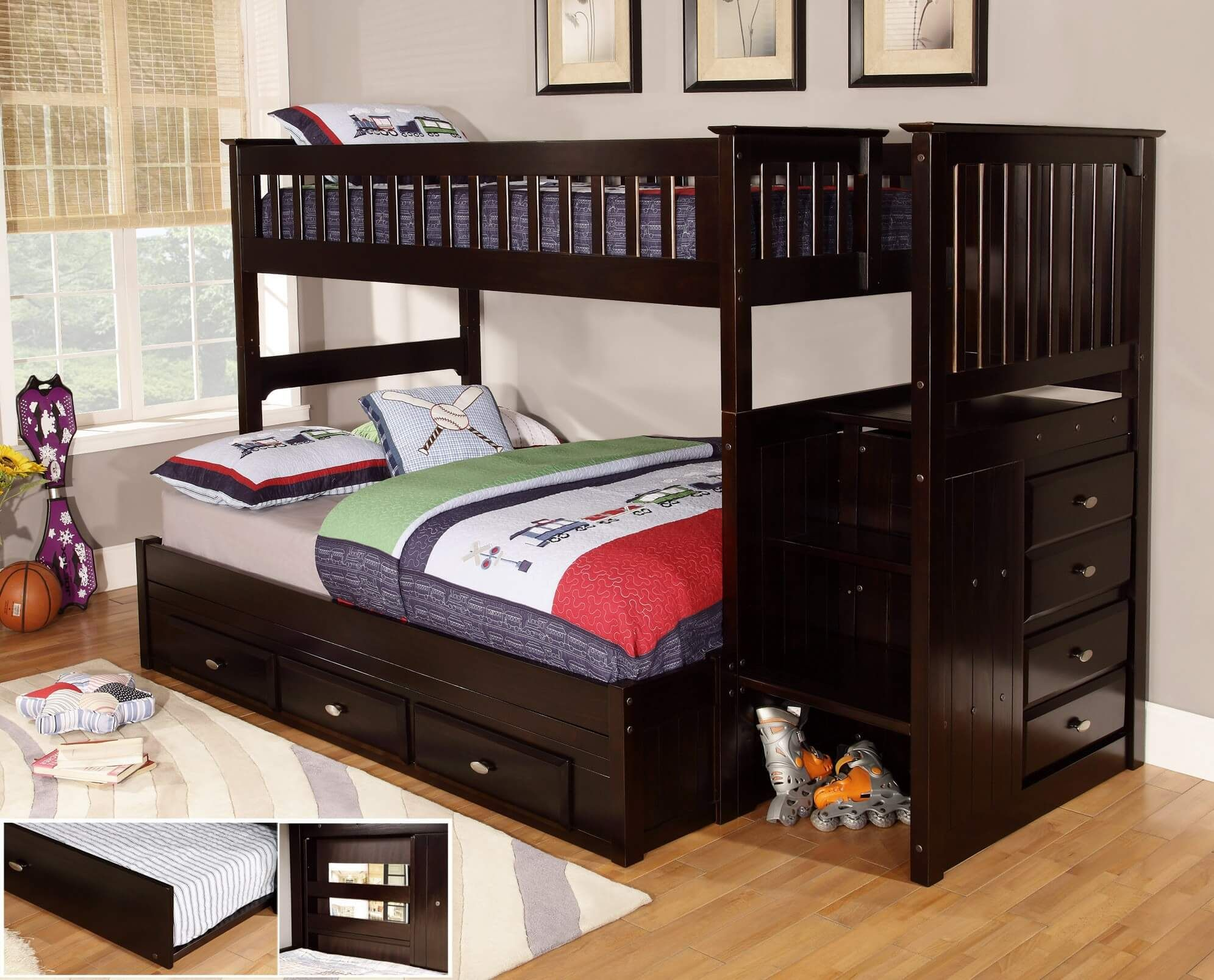 Loft bed ideas for small rooms  Full size low loft bed u You have a really small room with good