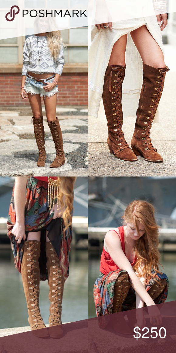 9a6db6a190a Free People Johnny Tall Boots - RARE   SOLD OUT can t get these in ...