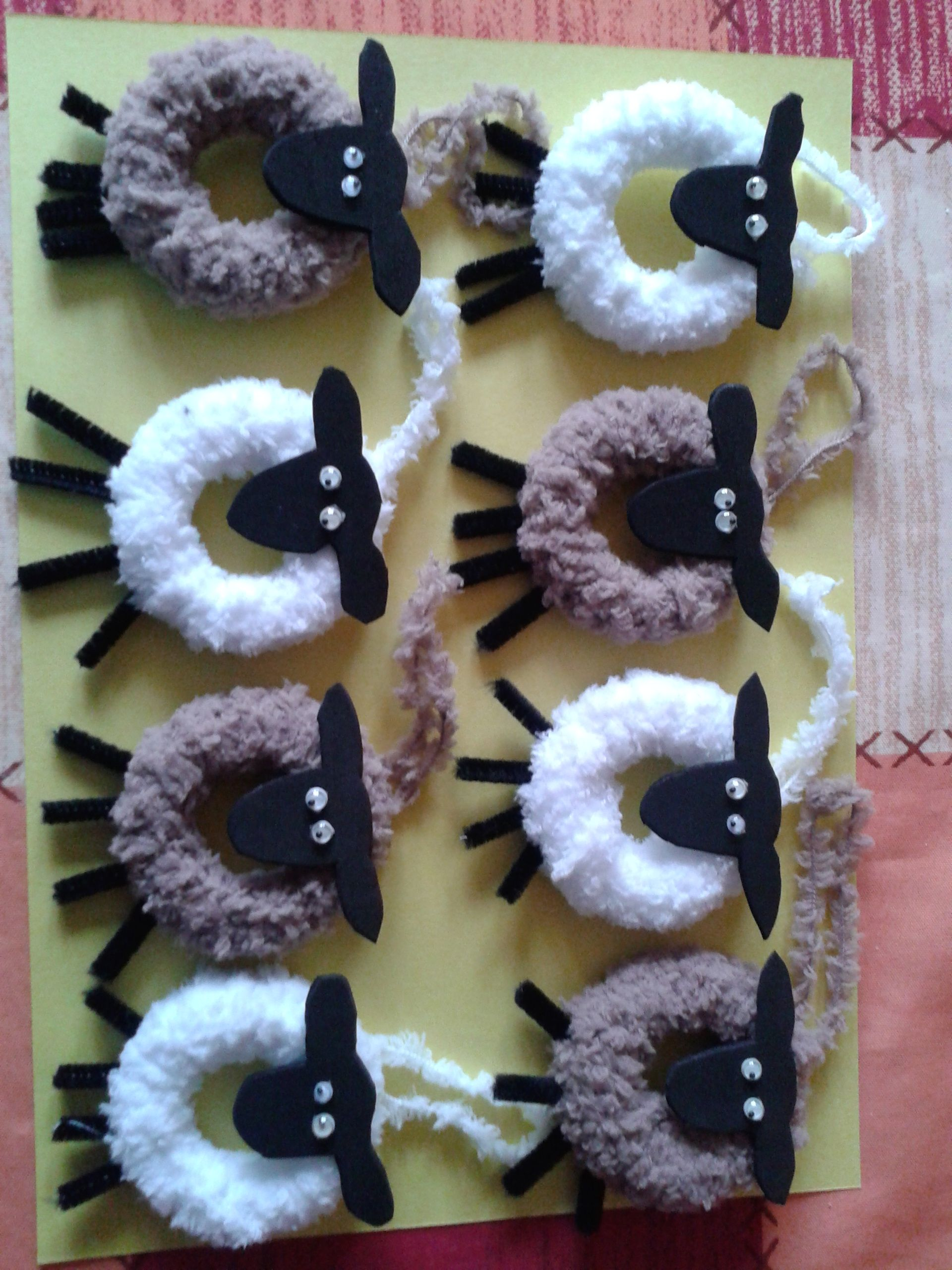 A Flock of Easter Sheep !