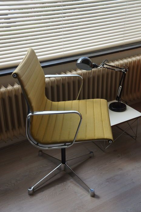 Eames Voor Herman Miller Aluminum Group Chair Eames Stoelen