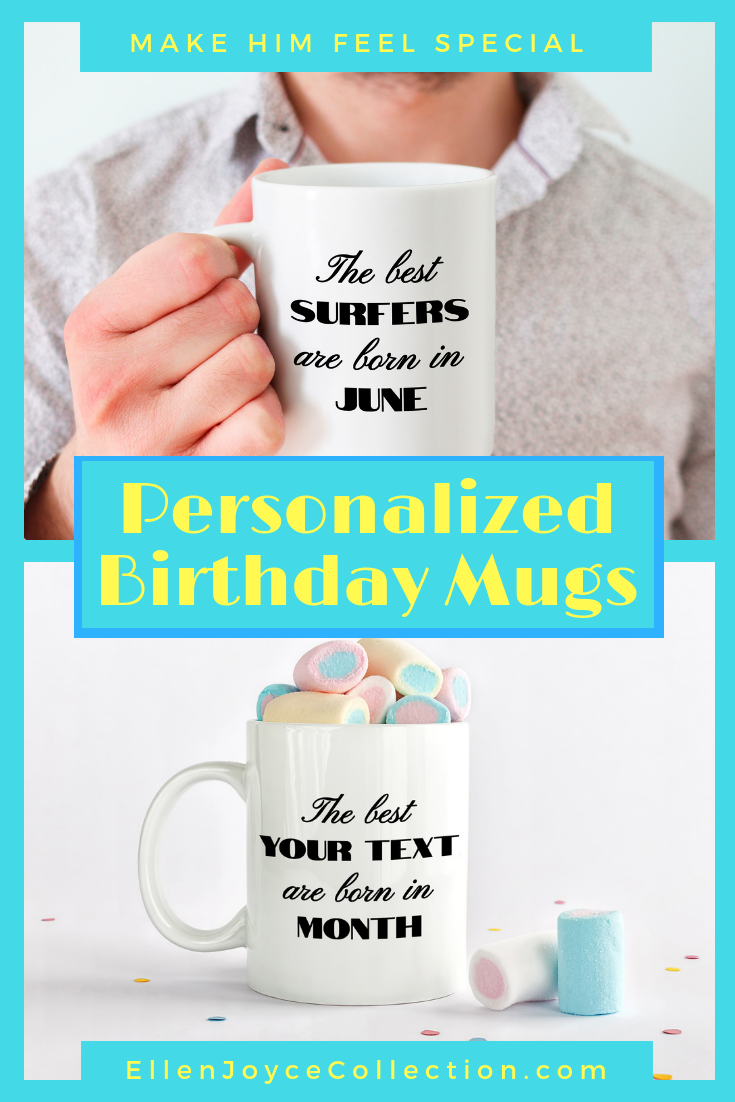 Make Them Feel Special With A Personalized Birthday Gift This Humorous Month Mug