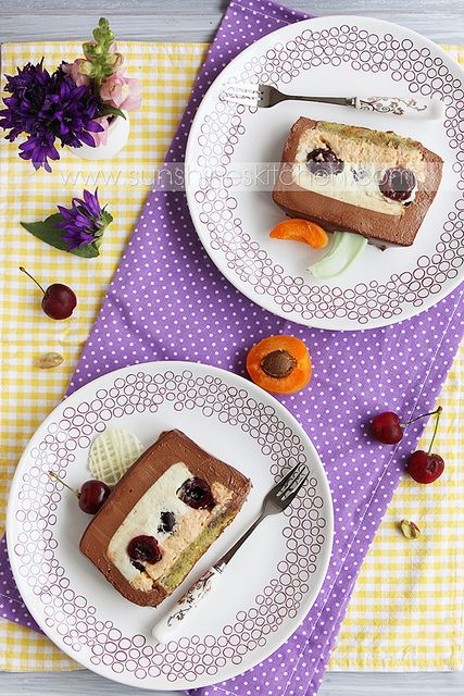 entremet-with-apricot-bavarian-cream-and-chocolate-mousse