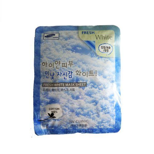 3w Clinic Fresh White Mask Sheet 10 Count By 3w Clinic 9 99 Moisturize Your Skin This Is A Sheet Type Mask Containing A Variety Of Aest Best Natural Skin Care Health