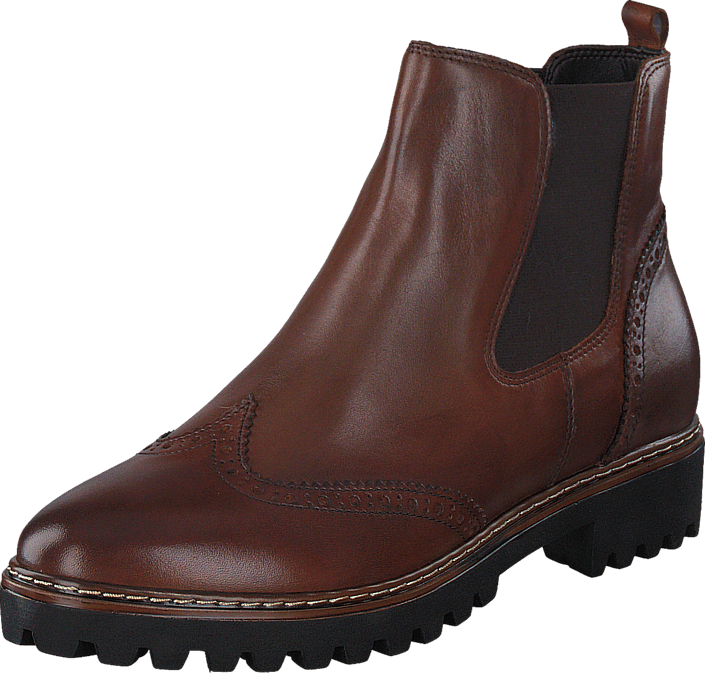 a28988025ac 1-1-25442-27 305 Cognac | Brown and red shoes | Chelsea boots, Shoes ...