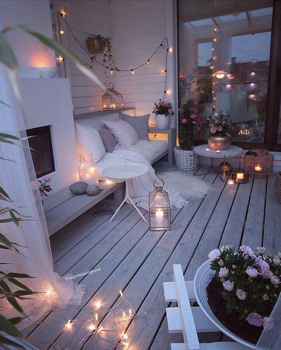 25 Winter Terrasse Und Balkon Dekor Ideen die Sie Genießen werden | Mobelkunst.com #wohnungbalkondekoration