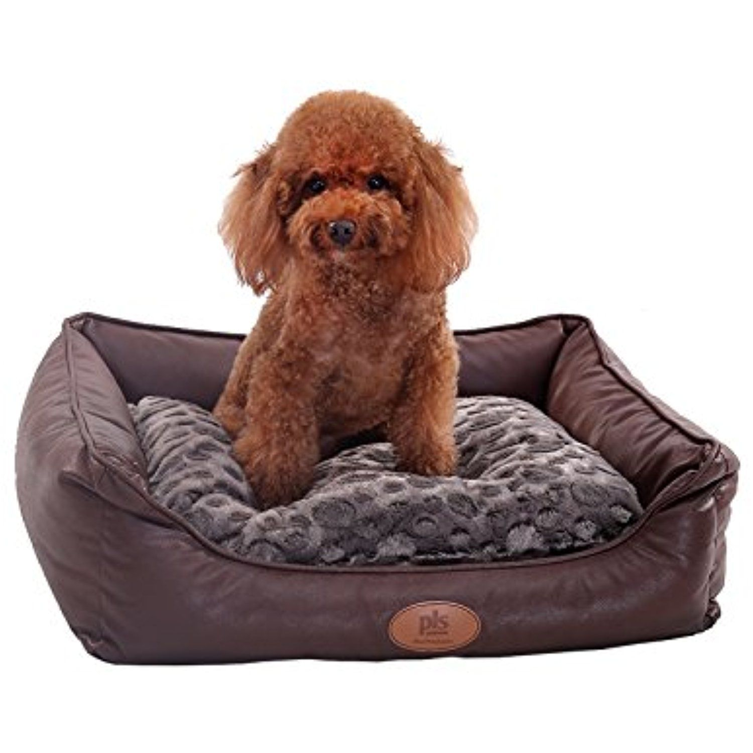 New Pls Birdsong Brownie Bolster Pet Bed Small Dog Bed Cat Bed