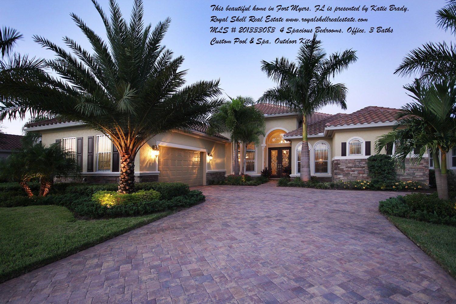 This beautiful home in Fort Myers, FL offers 4 Bedrooms