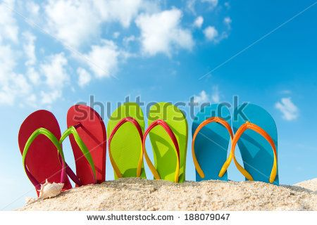 beach umbrella in a rowshutterstock - Google Search
