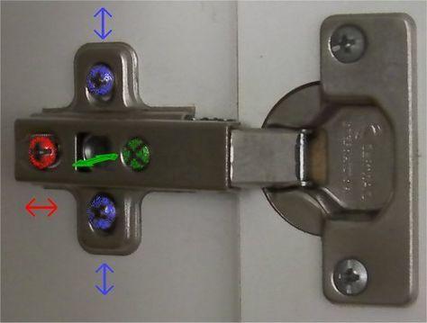 Regolare le cerniere di un armadio | Mobili fai da te idee ...