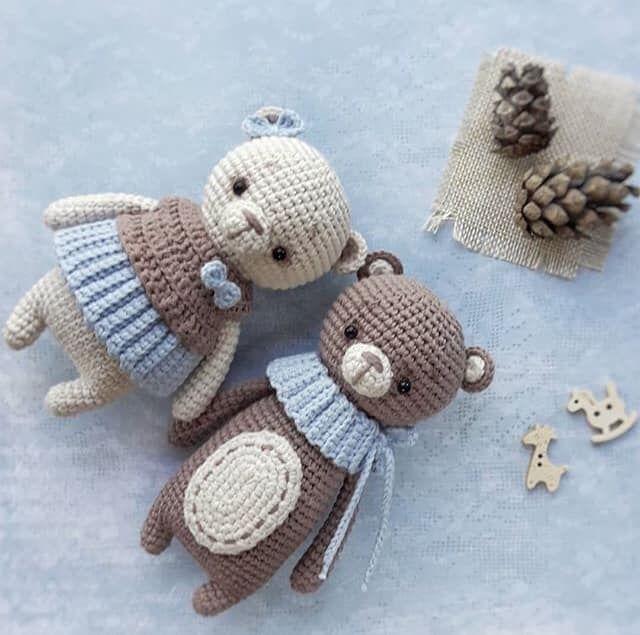 2 in 1! Amigurumi pattern Crochet Bears pattern Crochet pattern amigurumi bear crochet pattern Crochet toys pattern Amigurumi toys