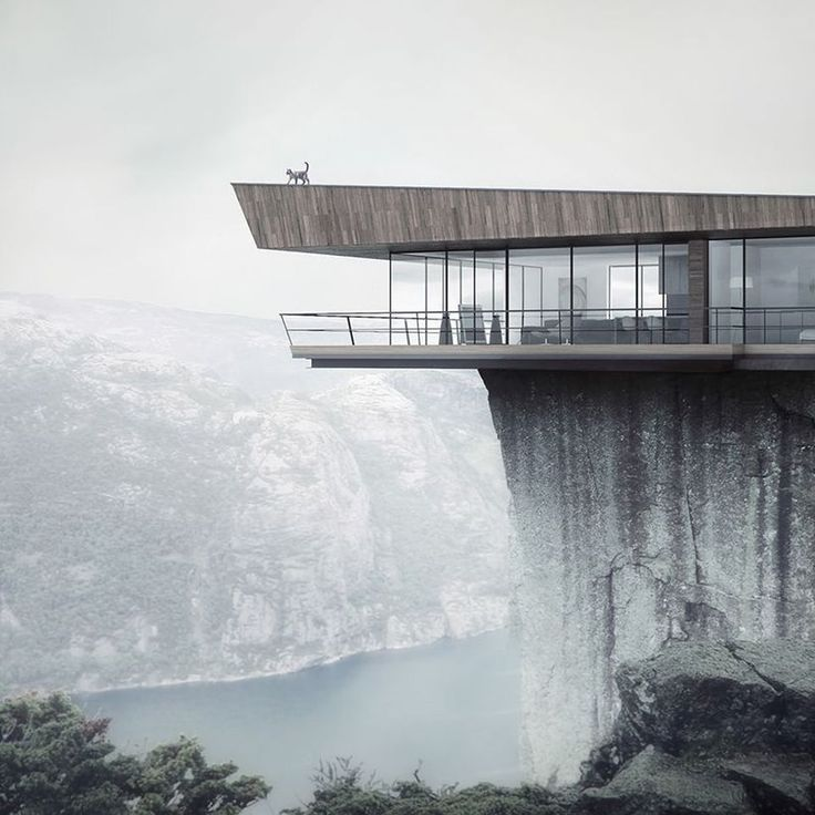 The Cliffs Apartments: 90 Breathtaking Cliff House Architecture Design And