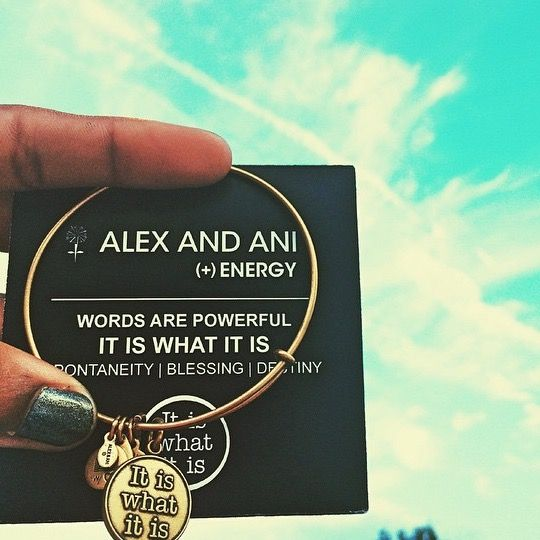 It Is What Alex And Ani