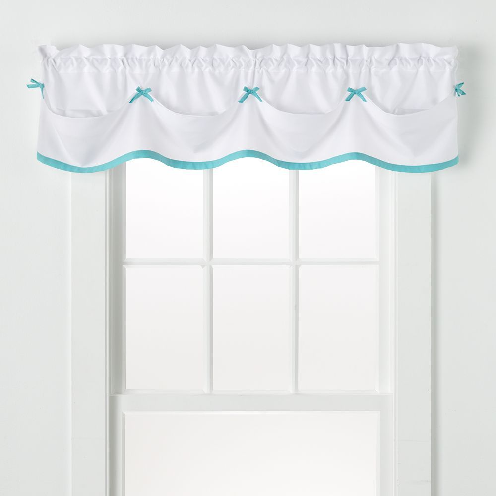 Nursery window ideas  saturday knight ltd kayla tailored window valance  uu x