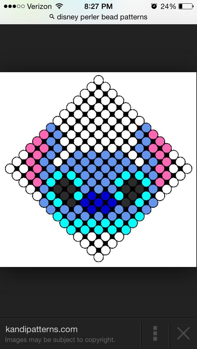 Stitch Small Perler Bead Pattern Perler Hama Beads Perler Bead
