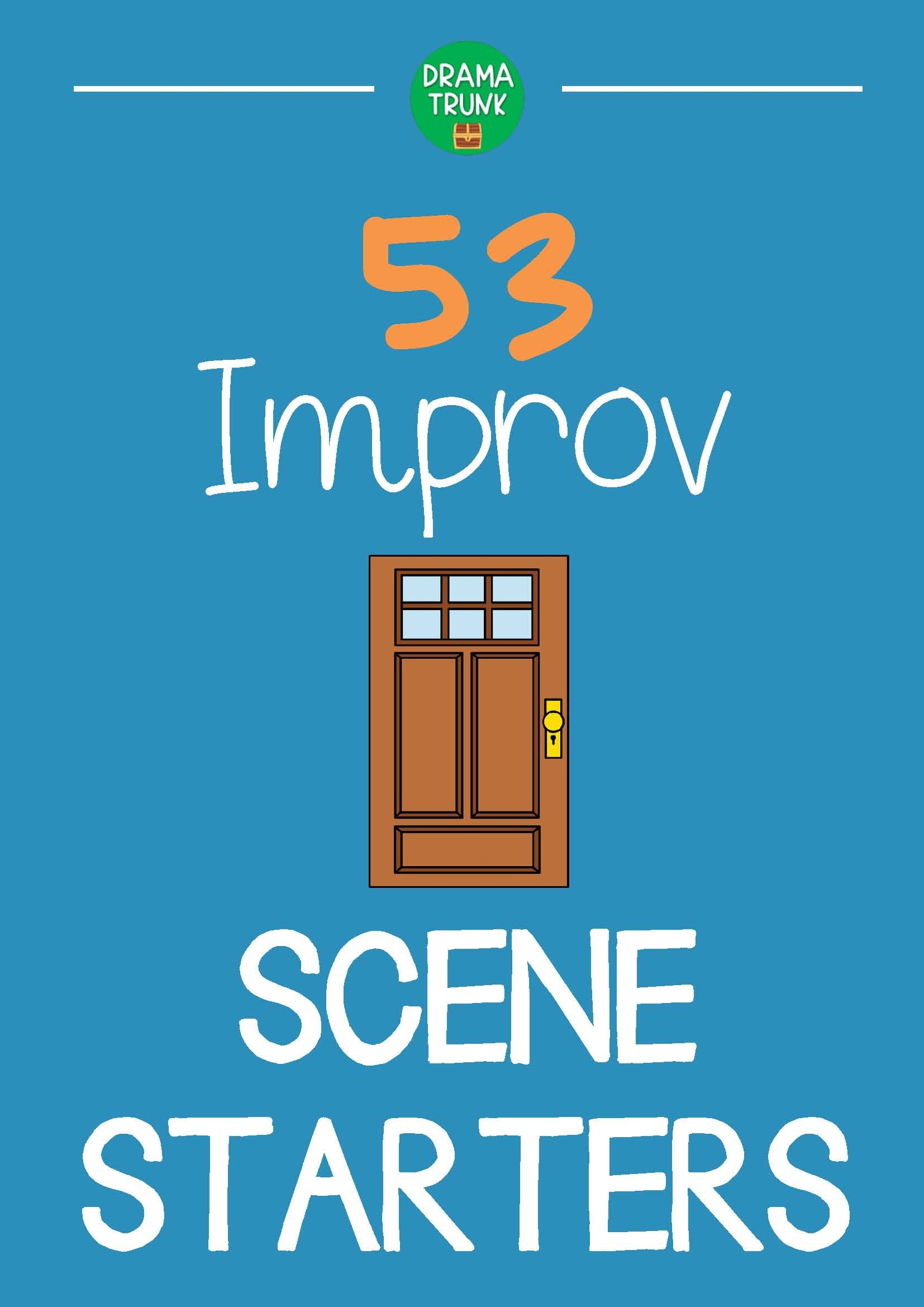 Pin on Improv Games