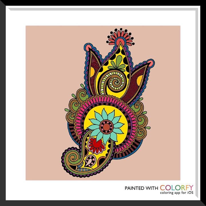 Pin de Maria Scrimale en My Colorfy/Colorfly/ColorArt Work | Pinterest