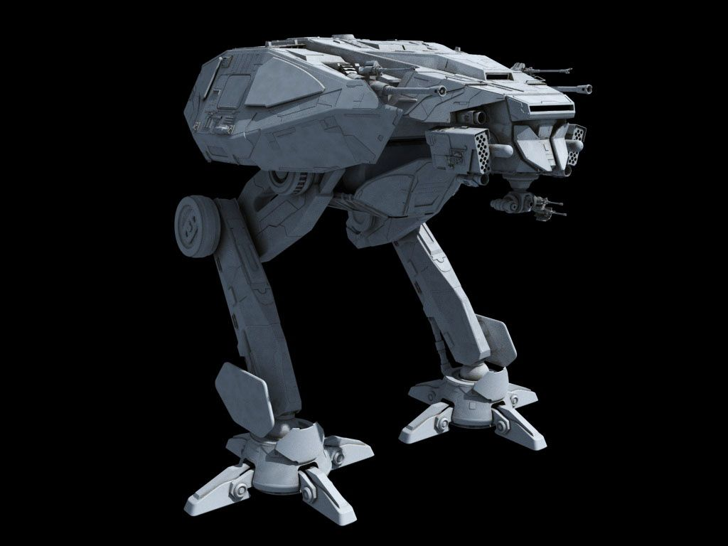 Droid Walker Concept Art