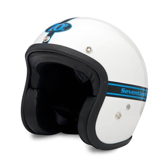 SEVENTIES Weiss - weisser Vintage Helm
