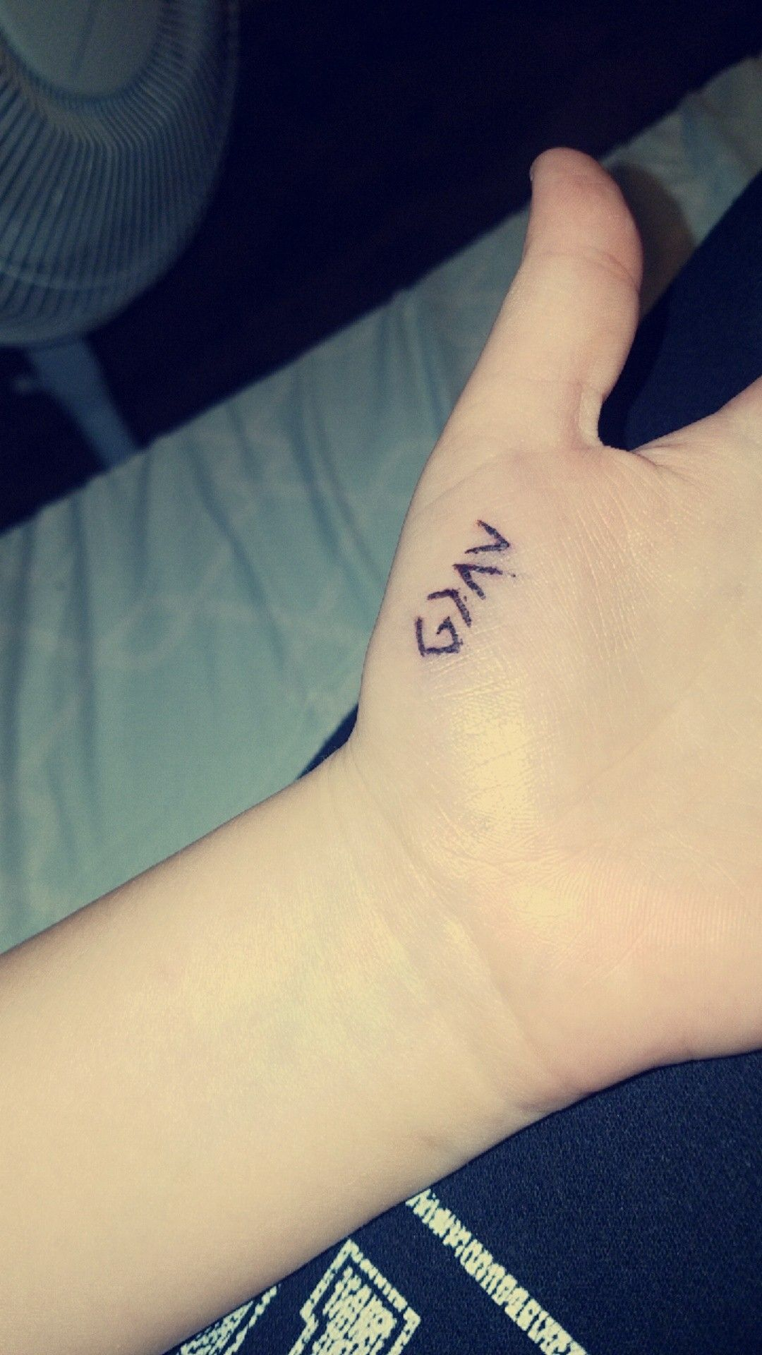 God Is Greater Than My Ups And Downs Stick And Poke Tattoo Stick And Poke Poke Tattoo