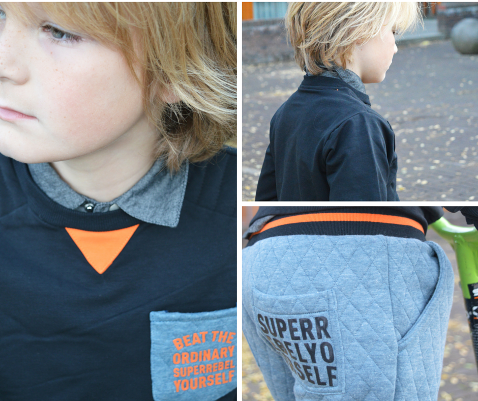 Sebastiaan in SuperRebel wintercollectie 2015