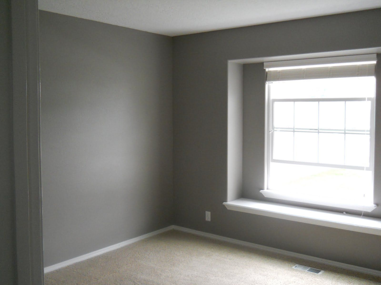 Behr fashion gray for the master bedroom or the living room home pinterest behr master - Gray interior paint ...