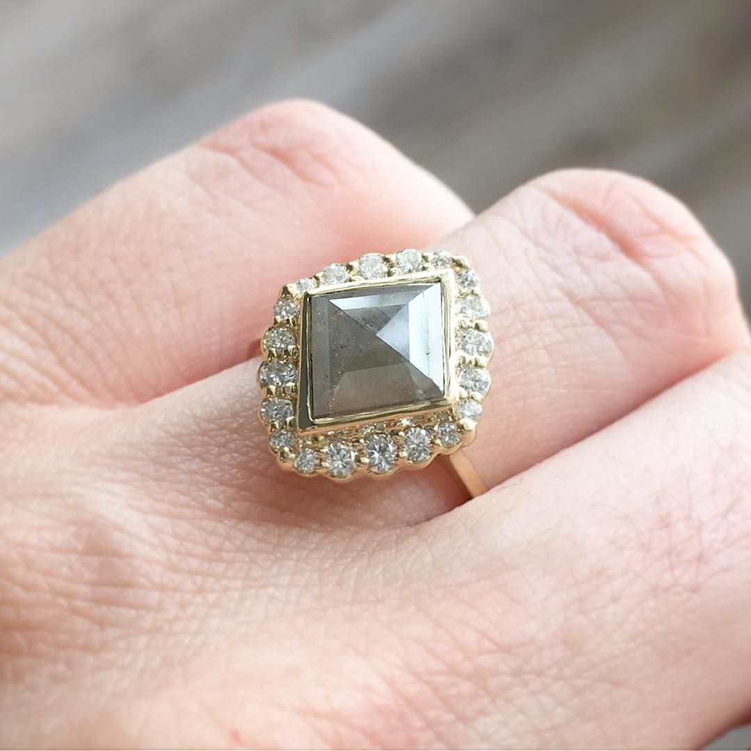 Swooning over our new rough diamond collection - unique cuts and ...