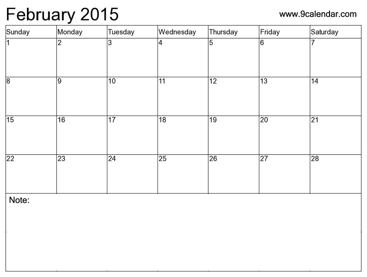 February 2016 Calendar Holidays – 2017 Printable Calendar ...