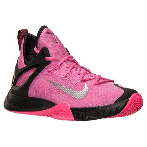 competitive price e44c7 8fe66 Nike Zoom Hyperrev 2015 Mens Basketball Shoes 10.5 Pink Fire Kay Yow 705370  606  Nike  BasketballShoes