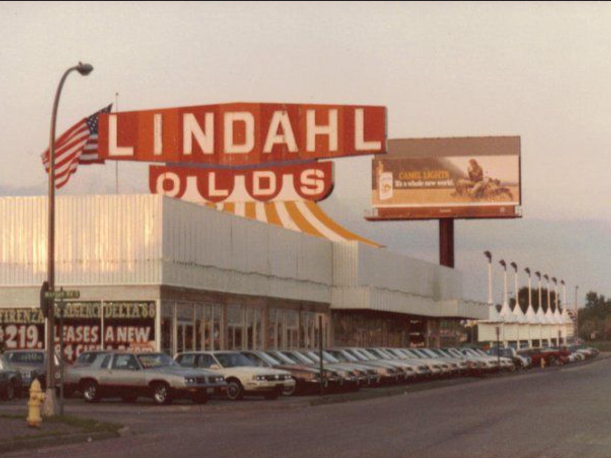 1980 S Lindahl Oldsmobile Dealership Richfield Minnesota Car