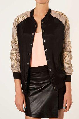 Американская мода - женские куртки Бомбер. Фото | Женская ...