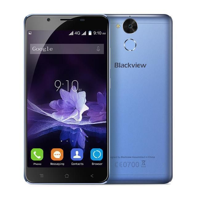 Blackview MT6753 P2 Lite Smartphone Android 7.0 Mobile Phone 3G+32GB Cell Phone