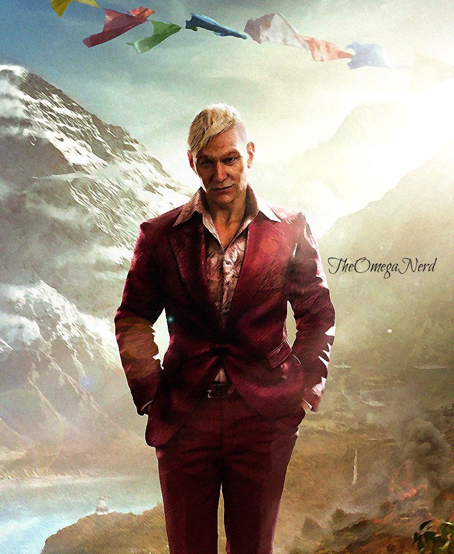 Far Cry 4 Pagan Min By Theomeganerd Far Cry 4 Crying Pagan