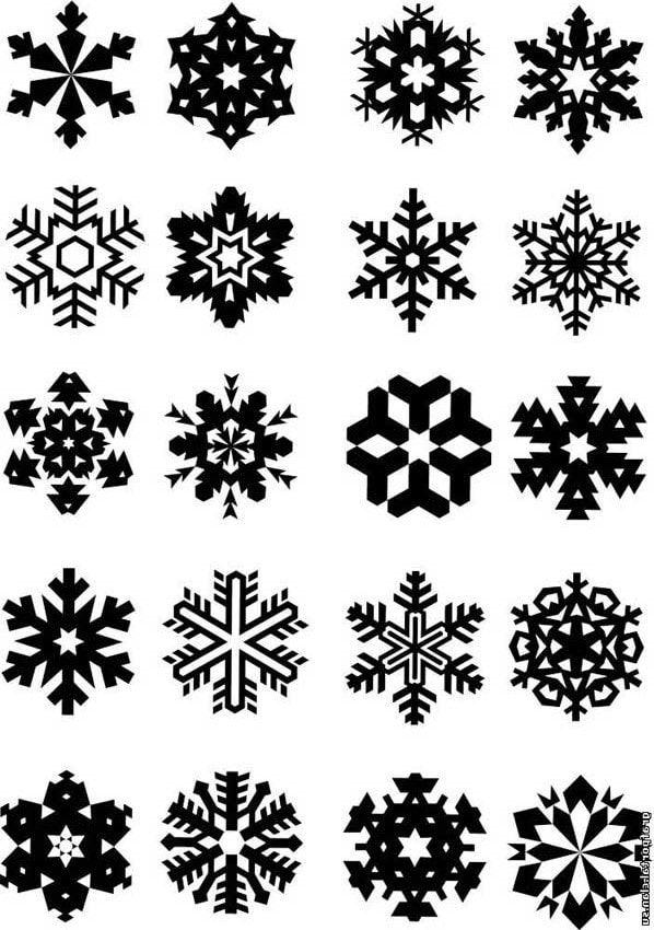 Снежинки на ногтях как рисовать видео фото ...