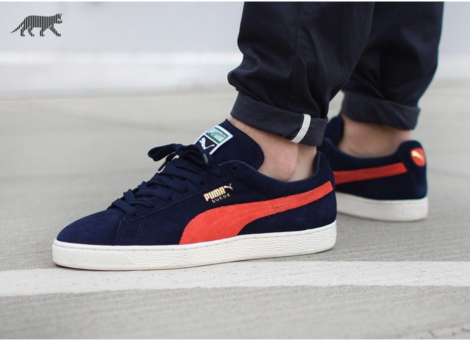 Puma Suede Classic Men's Sneakers Shoes Peacoat