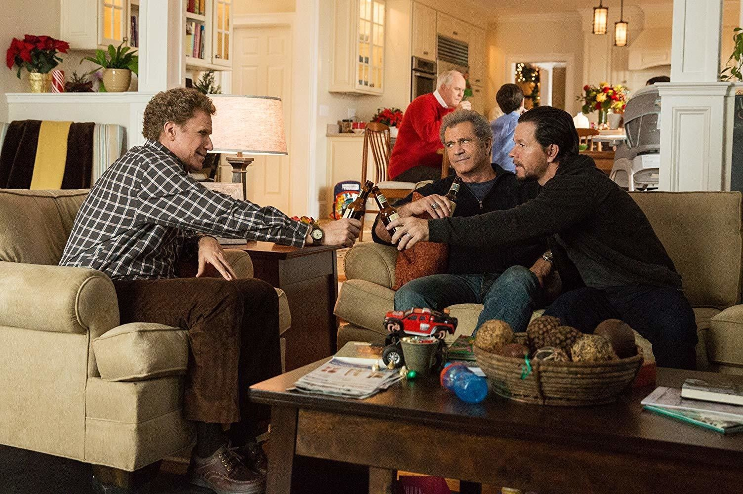 Dysfunctional family holiday movies daddys home will