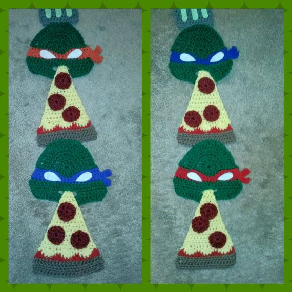 Teenage Mutant Ninja Turtle Scarf Crocheted To Order