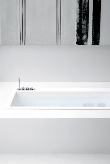 Antonio Lupi Ayati AY702SA deck-mounted bath fittings with hot/cold