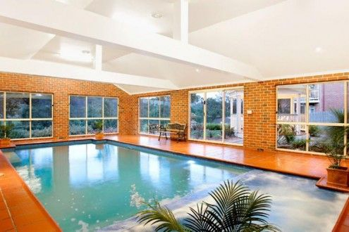 Beautiful indoor pool Designs Inside your house: Indoor Waterpool ...