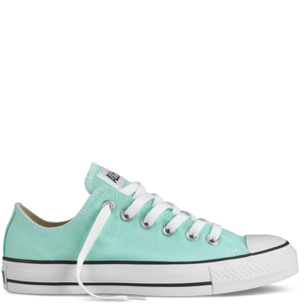 Chuck Taylors in sea foam green? You can't go wrong!