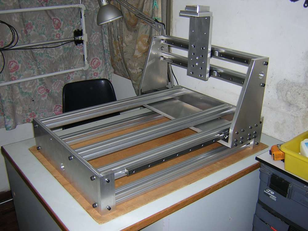 Diy Cnc Router Table Plans New Metal Cnc Frame Diy Machine