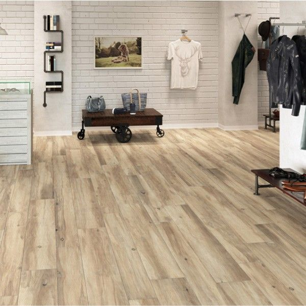 Wood Effect Rectified Porcelain Floor Tile By The Spanish Tile