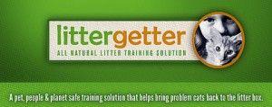 Litter Getter- litter box solution-attractant  giveaway