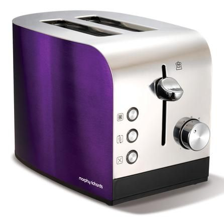 Purple Toaster So Cute Red