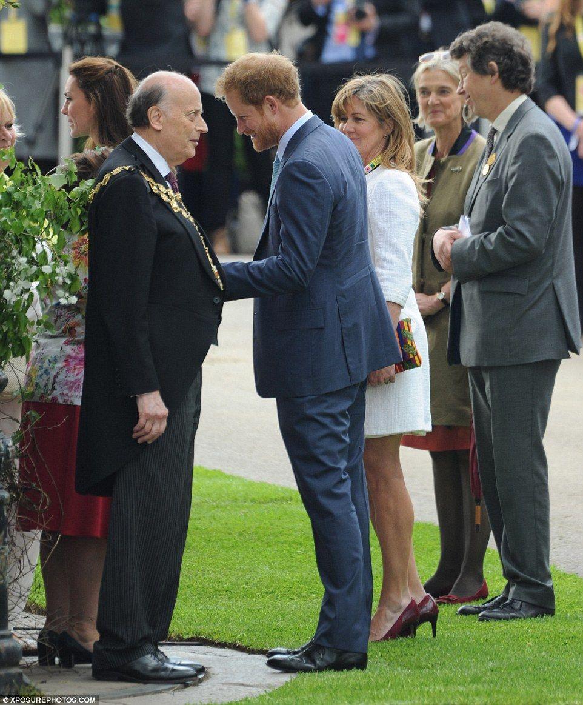 Duke And Duchess Of Cambridge Finally Visit Chelsea Flower