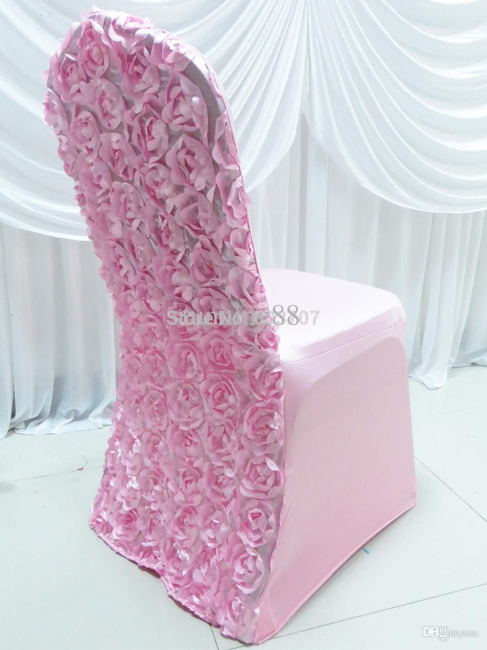 Wholesale Spandex Stretch Lycra Chair Cover With 3d Satin ...