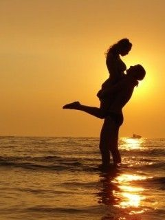 Your lover and partner should lift you up in every way  with love