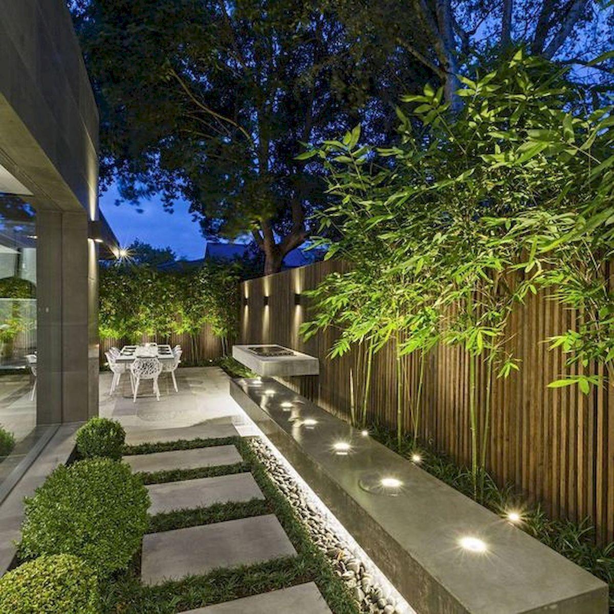 80 Awesome Backyards Garden Lighting Design Ideas Worldecor Co Outdoor Gardens Design Garden Lighting Design Side Yard Landscaping