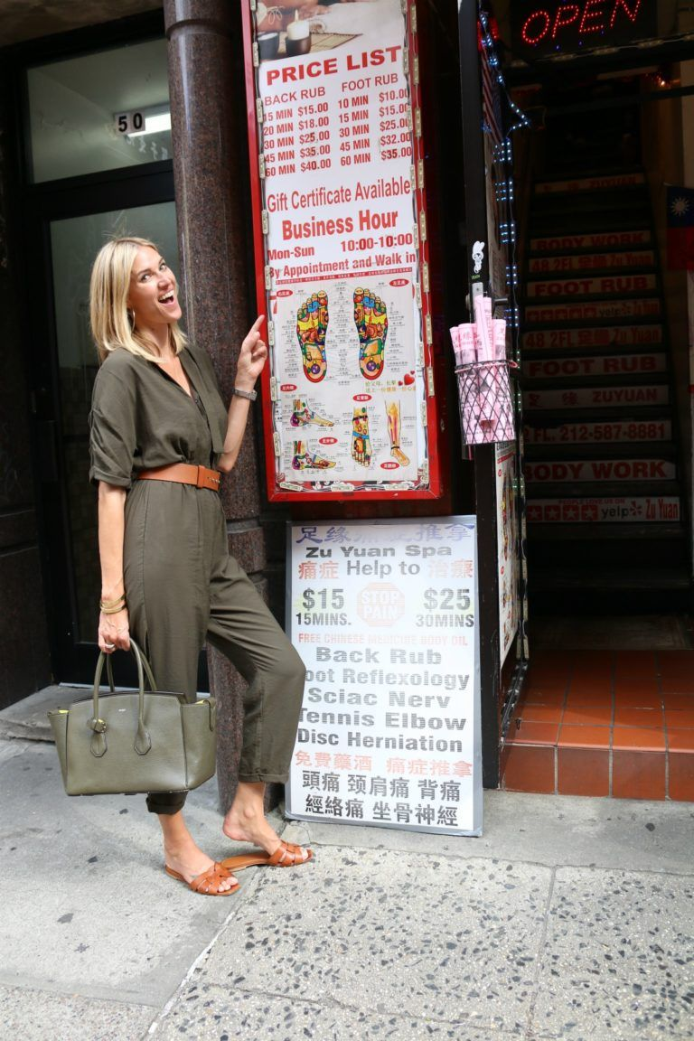 Zuyuan foot massage Kristen Taekman NYC Chinatown | nyc girl