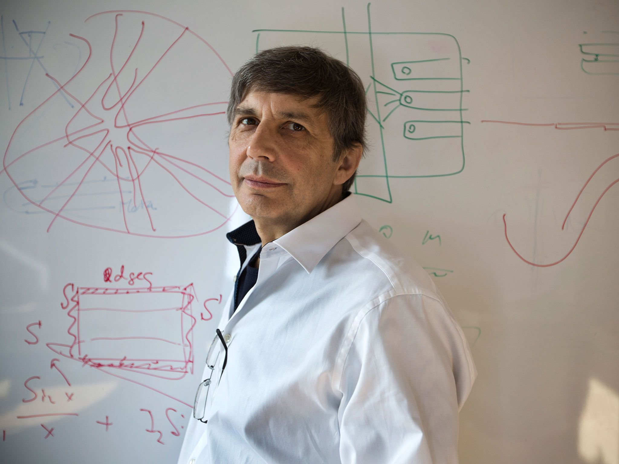 He will forever be the father of graphene, the wonder material one-atom-thick and 200 times stronger than steel, but for a few days this summer, Sir Andre Geim was someone else entirely.