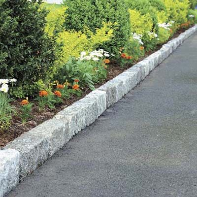 How To Install Belgian Block Driveway Edging Driveway